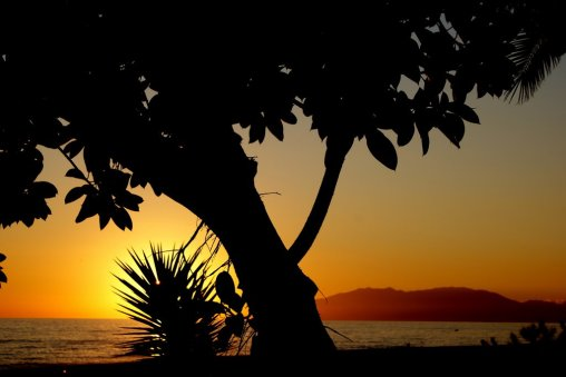 Doug Poplett - Puesta de sol en Benajarafe